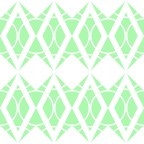 Green Diamonds Pattern by MH