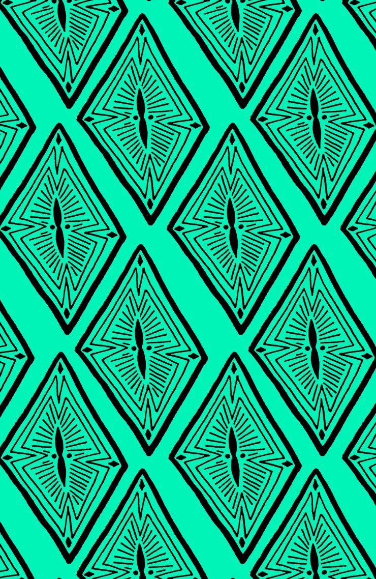 Off Diamonds Pattern