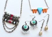 Jewelry made by Marjorie Henderson. Available on my Etsy shop! Etsy Shop-https://goo.gl/sDObTw. Enjoy!