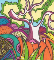 """""""Crazy Tree""""-SOLD in private collection"""
