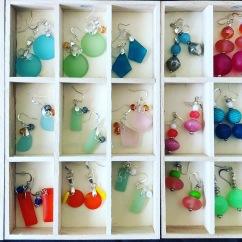 Earrings by Marjorie Blume