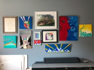 Art Studio Wall