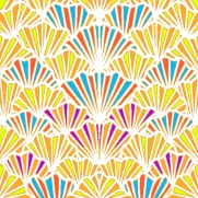 Fanfare design by Marjorie Henderson