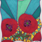 """""""Poppies""""-in private collection"""